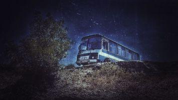 Бесплатные фото Паз,машина,природа,виньетка,волшебство,ночь пейзаж,космос
