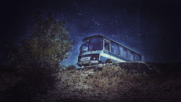 Фото бесплатно Паз, машина, природа