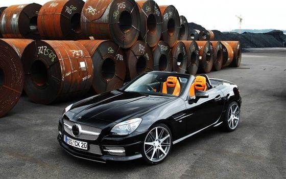 Фото бесплатно Mercedes-Benz, родстер, кабриолет
