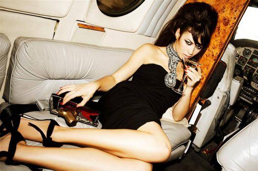 Beautiful wallpaper olga kurylenko, the actress on the phone