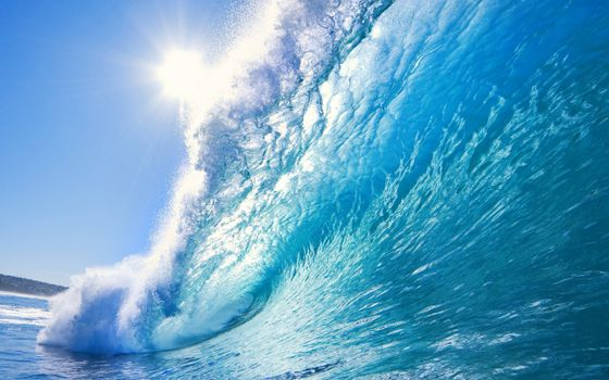 Фото бесплатно брызги, море, солнце