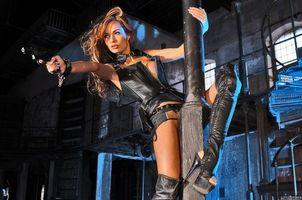 Фото бесплатно adriana corset, девушка, модель, красотка