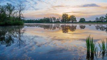 Фото бесплатно Германия, Бавария, озеро