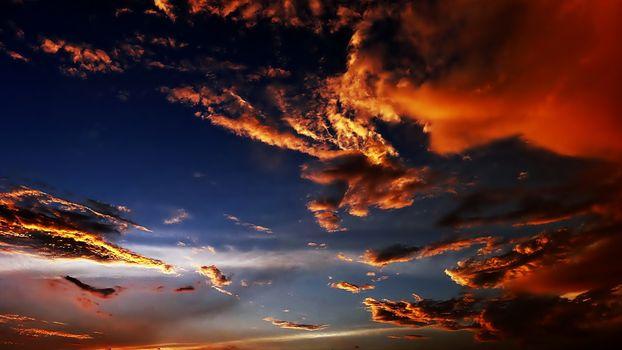 Фото бесплатно чудное небо, облака