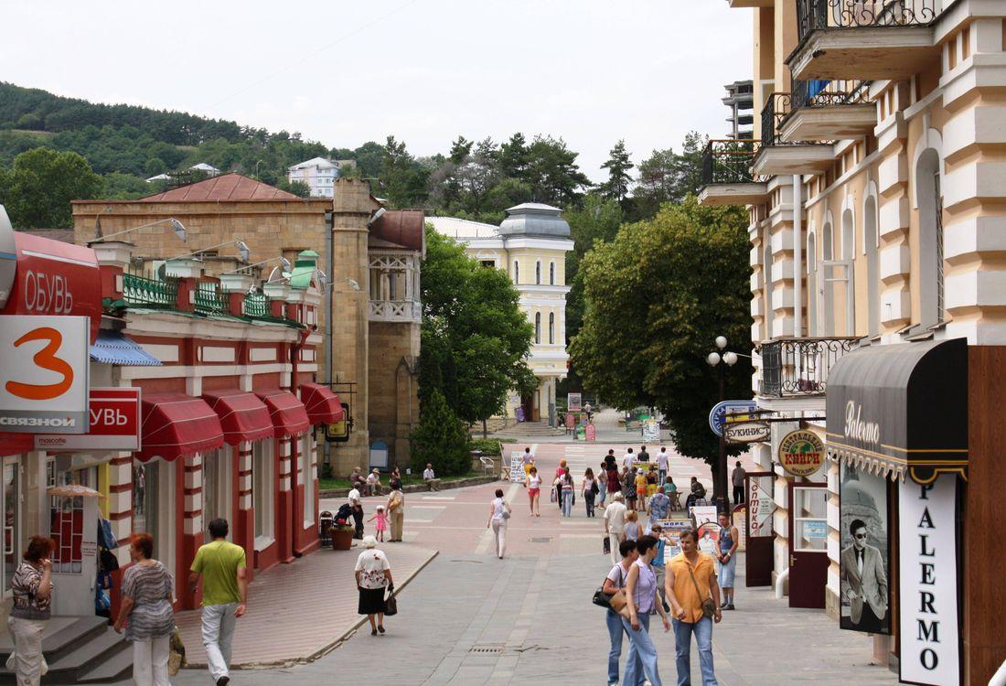 Фото бесплатно Кисловодск, улица, город - на рабочий стол