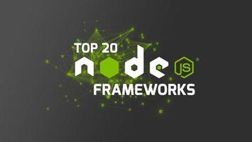 Фото бесплатно node js, программирование, framework