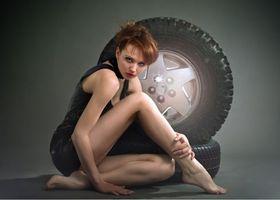 Фото бесплатно взгляд, модель, красотка