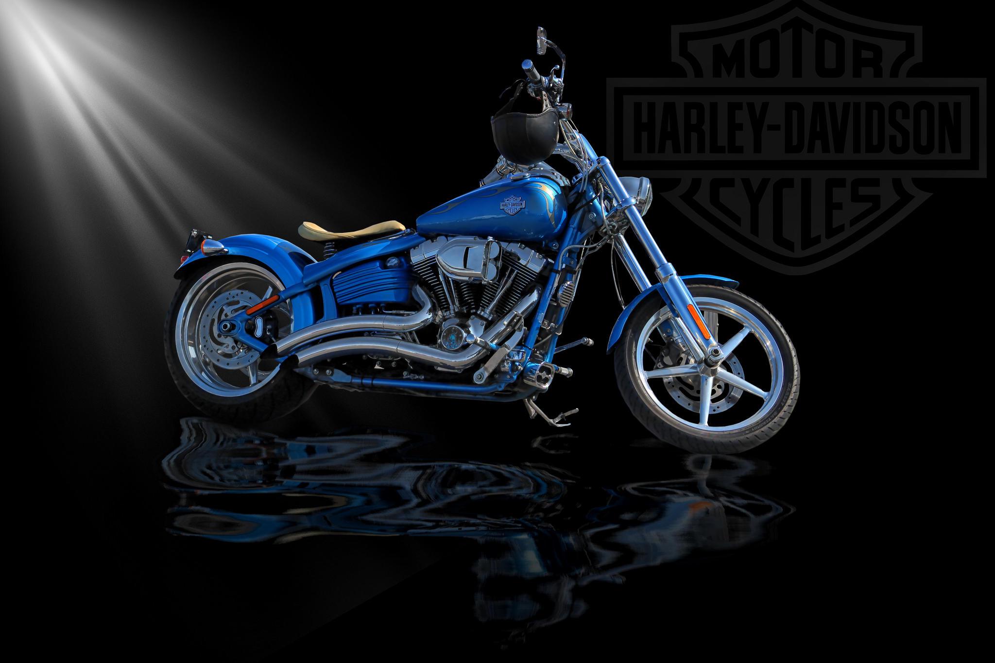 Обои Harley, мотоцикл, харлей дэвидсон