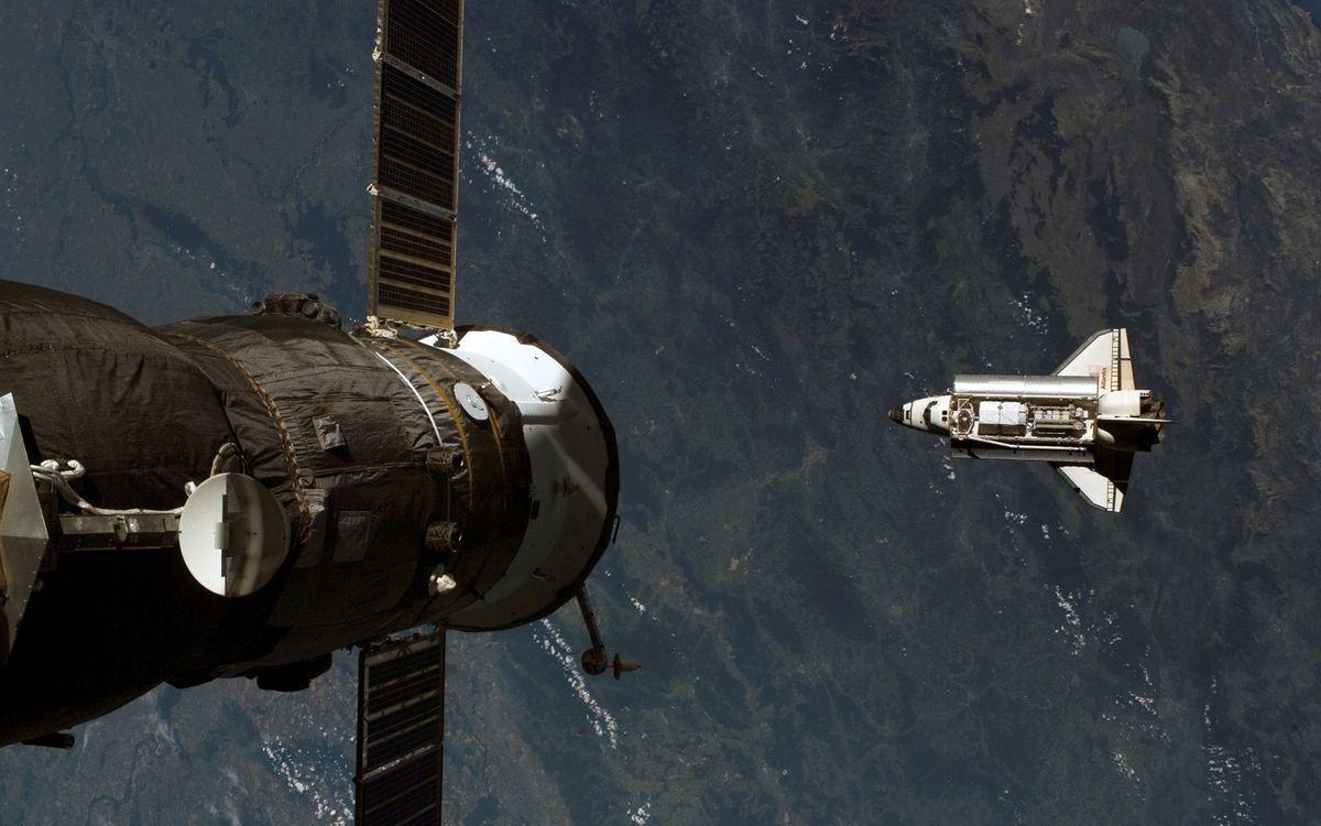 Фото бесплатно земля, орбита, спутник - на рабочий стол
