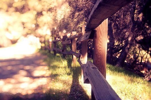 Фото бесплатно деревянный забор, ограждение