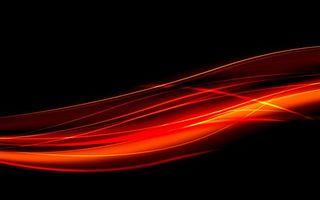 Бесплатные фото линии,полосы,волны,красные,фон,черный