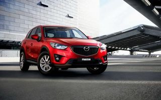 Photo free Mazda, red, crossover