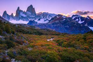 Photo free autumn, Los Glaciares, Argentina