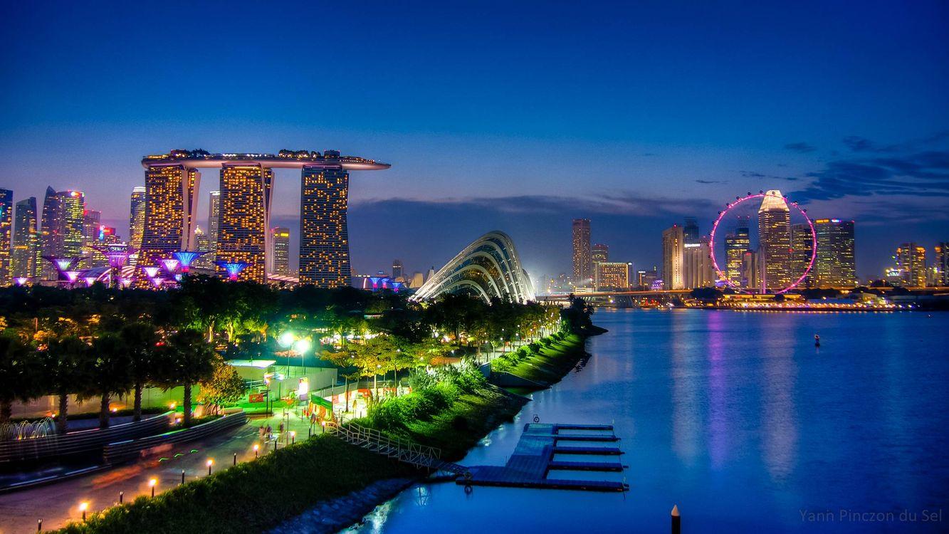 Free photo Singapore, Singapore city - to desktop
