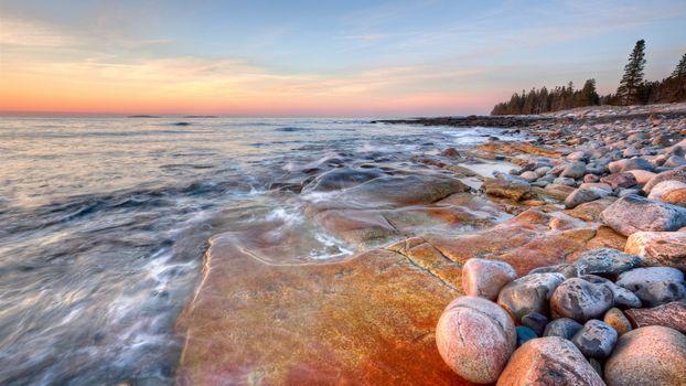 Фото бесплатно каменистый, берег, моря