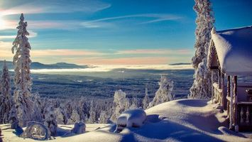 Photo free Norwegian Winter, mountains, winter