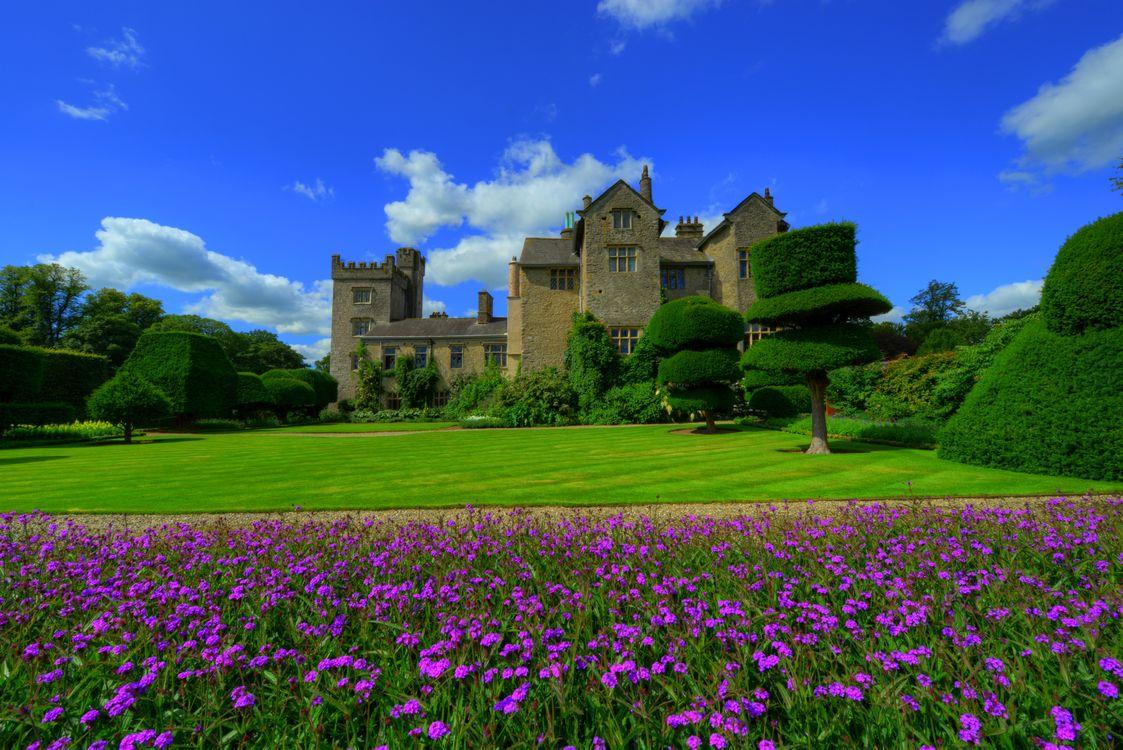 Free photo Garden Of Levens Hall, England, Cumbria - to desktop