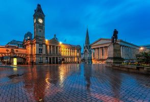 Фото бесплатно Бирмингем, Англия, ночь
