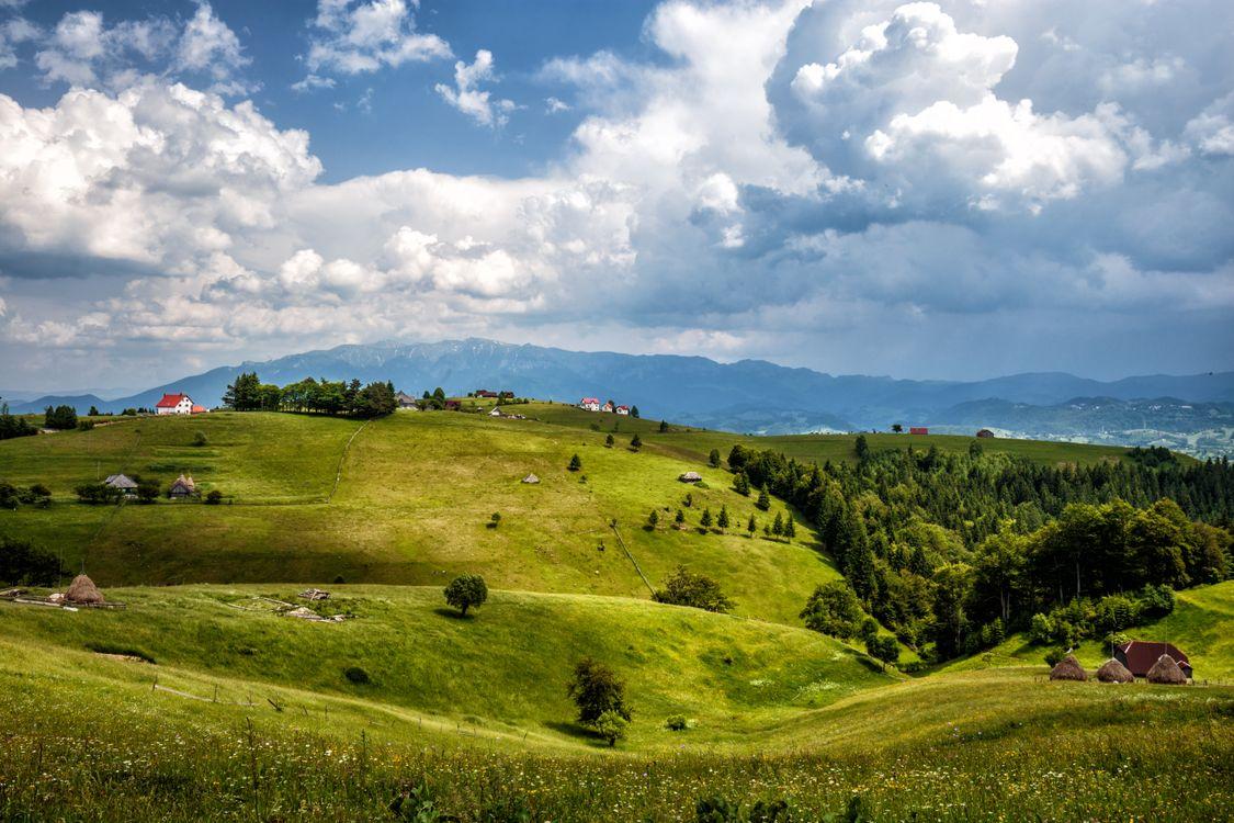 Фото бесплатно Брашов, Румыния, горы - на рабочий стол
