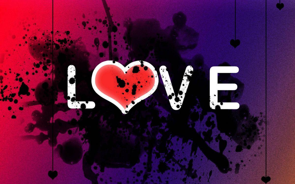 Фото бесплатно надпись love, разное