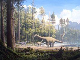 Бесплатные фото животные,динозавр,динозавры,травоядные,монстры,лес,деревья