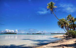 Фото бесплатно пейзаж, Тихий океан, остров