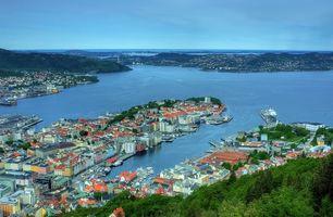 Фото бесплатно Bergen, Norway, город