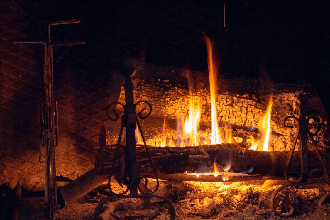Фото бесплатно камин, печь, огонь - на рабочий стол
