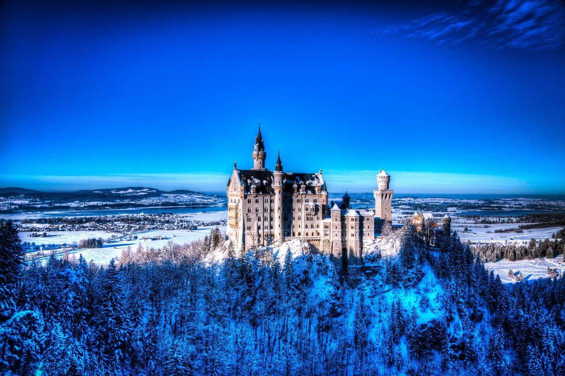 Фото бесплатно Neuschwanstein Castle, Bavaria, Germany - на рабочий стол