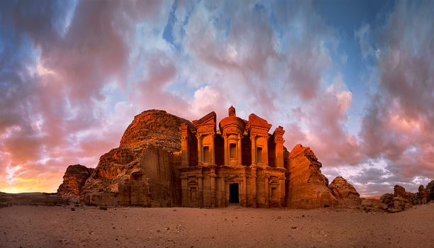 Photo free Jordan, monastery, Indiana Jones