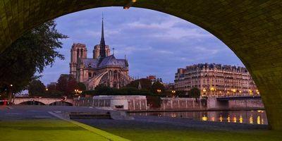 Фото бесплатно Собор Парижской Богоматери, Notre-Dame de Paris, Paris