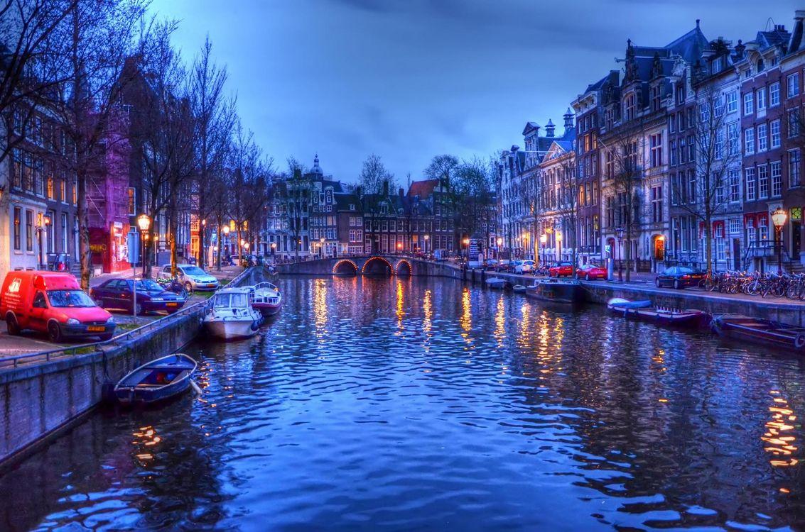 Фото бесплатно Amsterdam, Амстердам, Нидерланды, Голландия, город