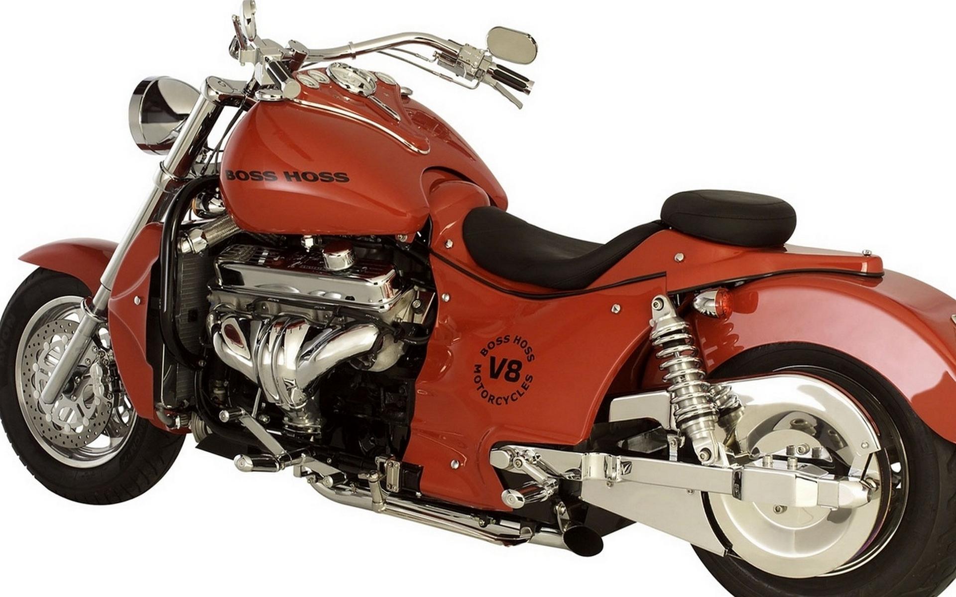 бос хос, красный, двигатель v8