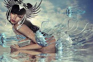Фото бесплатно фантастическая девушка, девушки, фэнтези