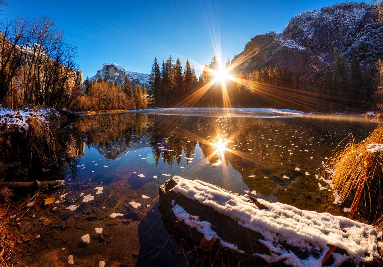 Фото бесплатно восход, солнце, лучи - на рабочий стол