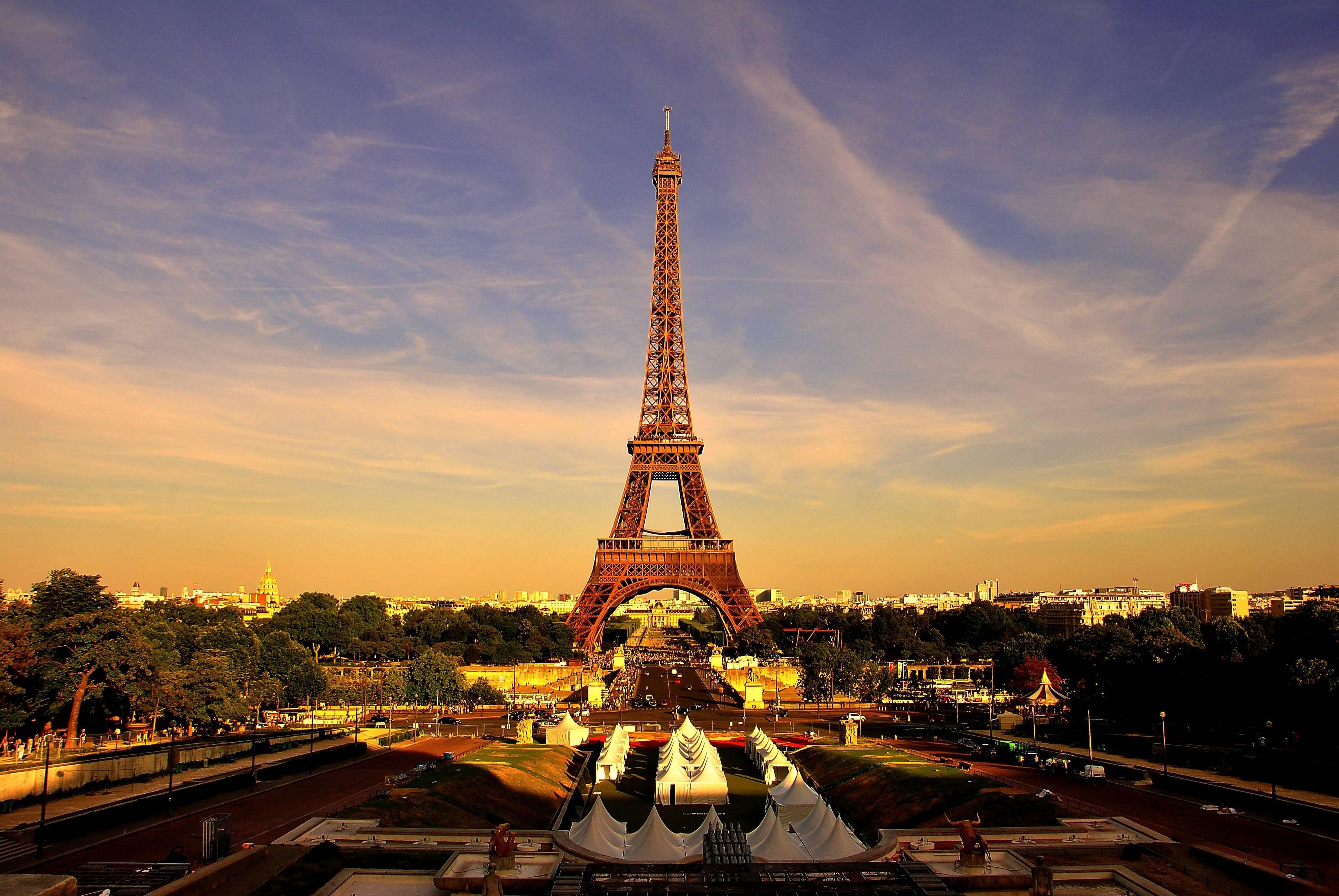 Париж из космоса  № 3715245  скачать