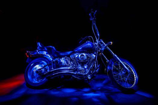 Обои мотоцикл, харли-дэвидсон на рабочий стол высокого качества