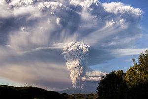 Photo free landscape, Calbuco Volcan, Chile