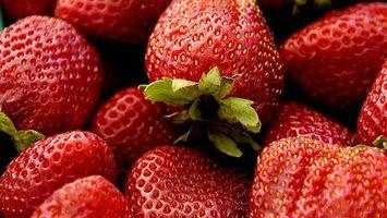 Фото бесплатно клубника, ягоды