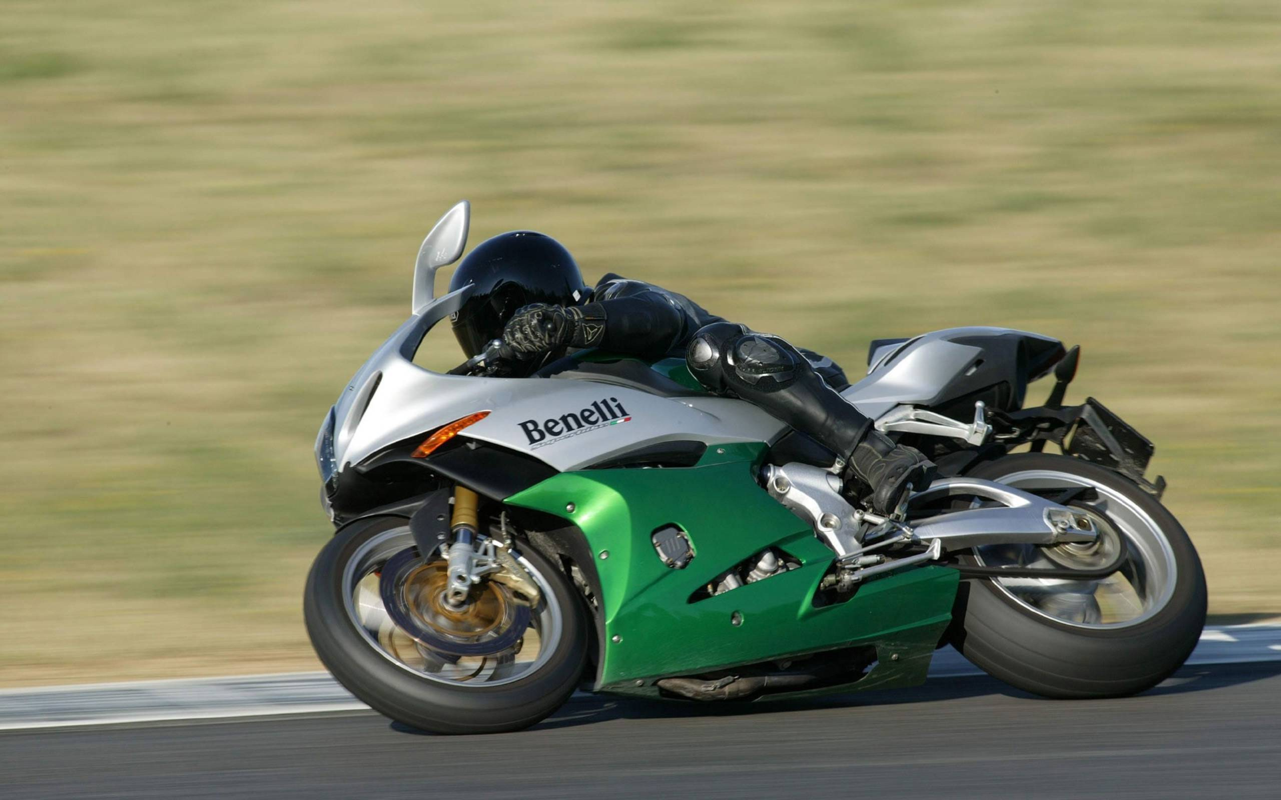 Обои спортивный мотоцикл, Benelli, скорость, поворот
