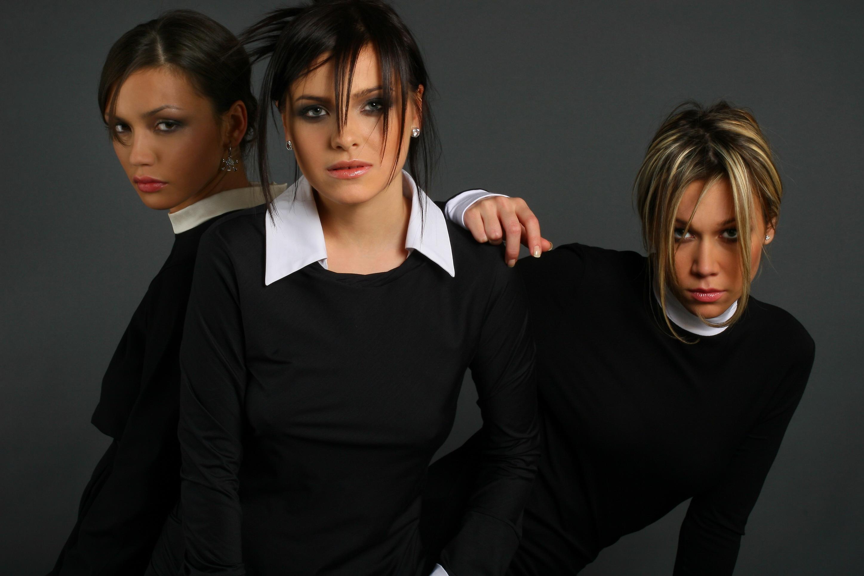 обои Участницы группы SEREBRO, девушки, красотки, певицы картинки фото