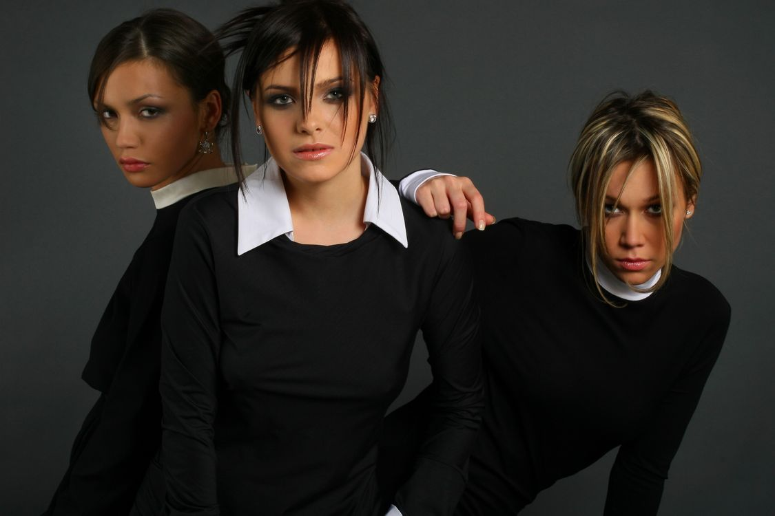 Фото бесплатно Участницы группы SEREBRO, девушки, красотки, певицы, музыка