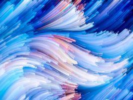 Заставки абстракция, текстура, синие, линии, краски, фон, фоны для дизайна, дизайнерский фон, яркий фон