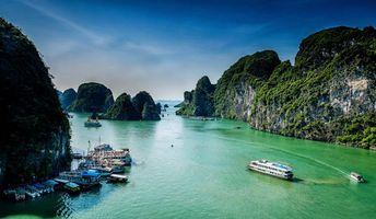 Заставки Ha Long Bay, Vietnam, море