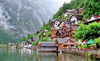 Заставки Hallstatt, Austria, город