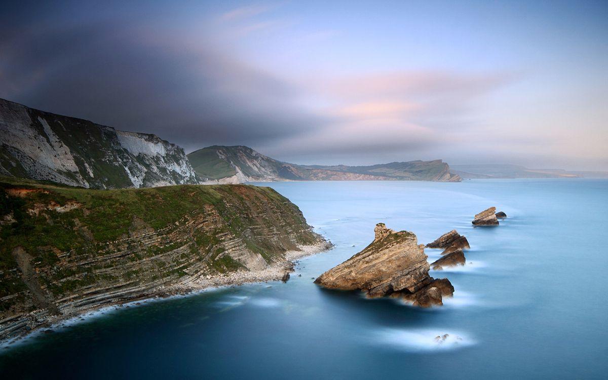 Обои скалы, море, камни картинки на телефон