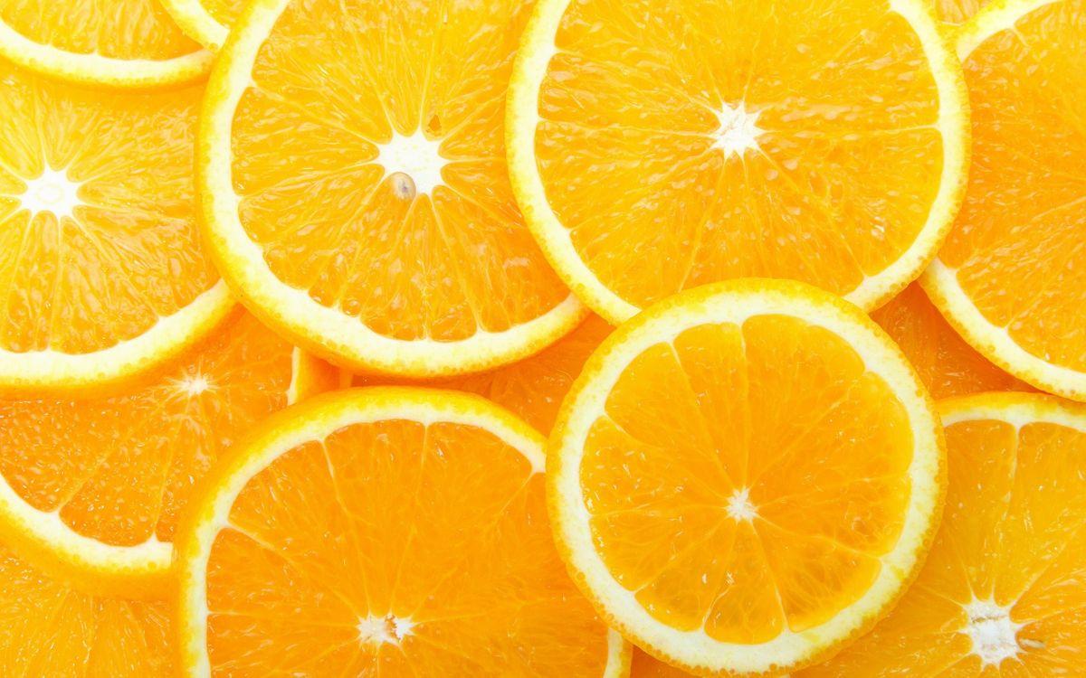Фото бесплатно фрукт, апельсин, дольки, мякоть, цедра, еда