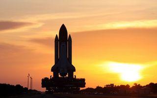 Бесплатные фото космическая станция,ракета,запуск,вечер,закат солнца