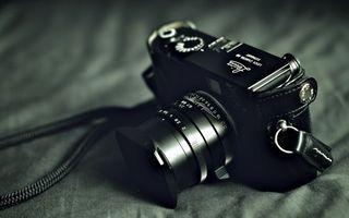 Фото бесплатно фотоаппарат, объектив