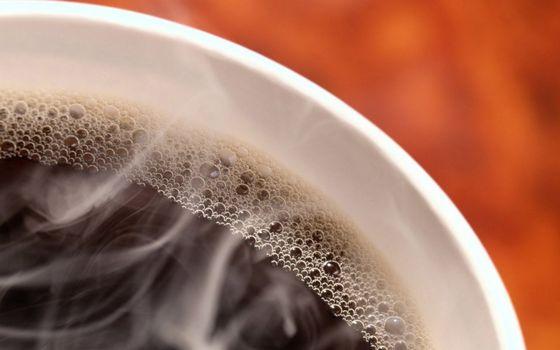 Фото бесплатно чашка, кофе, пузырьки